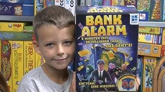 Bank Alarm (Mega Bleu) - ab 7 Jahre - verrücktes, lustiges, schnelles Spiel mit langem gameplay!