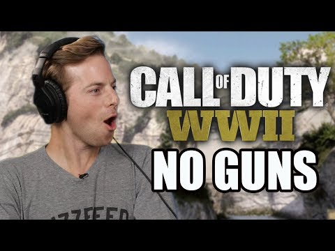 We Try To Play Call Of Duty Without Using Guns