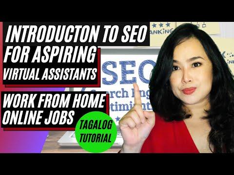 Seo Training Philippines - Virtual Assistant Skills