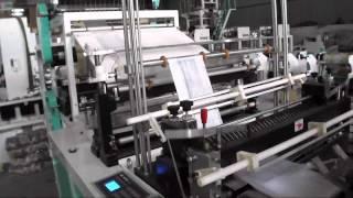Unité de fabrication des sachets en plastique