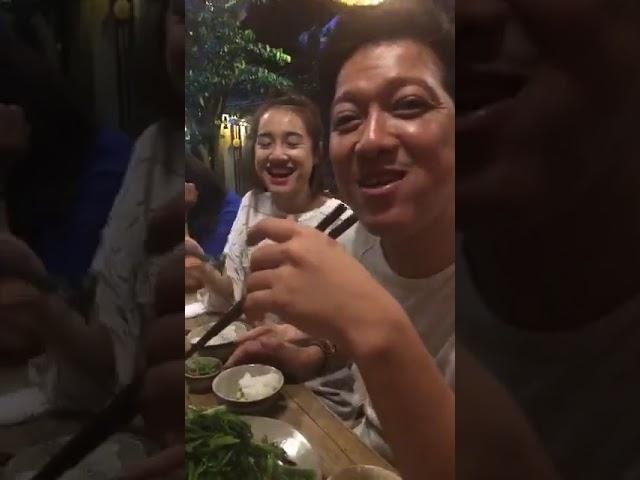 Trường Giang nói bạn gái Nhã Phương là khách hàng thân thiết không bao giờ trả tiền