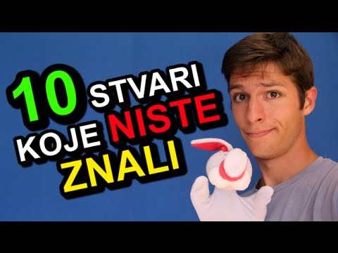 10 Stvari Koje NISTE Znali !!! (Yasserstain)