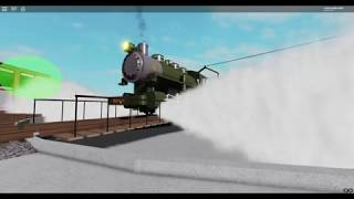 BLW 26 Pulling out of the Round House! (Roblox Robloxian Pass Scenic Railroad)