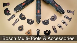 An Overview of Bosch Oscillating Multi-Tools and Accessories