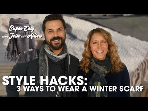 Style Hacks: 3 Ways to Wear a Winter Scarf