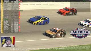 NASCAR America on NBCSN iRacing segment at Chicagoland: Behind the Scenes (Adam POV)