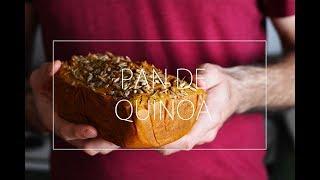 PAN DE QUINOA |  RECETA DE PAN FÁCIL, VEGANO, SIN GLUTEN Y ESPONJOSO