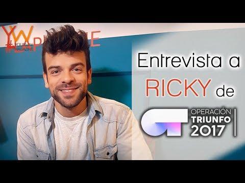 Entrevista a RICKY (OT 2017): «Cuando me fui no había dos grupos en la academia»