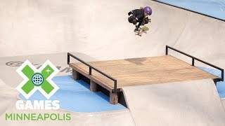 Sabre Norris wins Women's Skateboard Park silver | X Games Minneapolis 2018