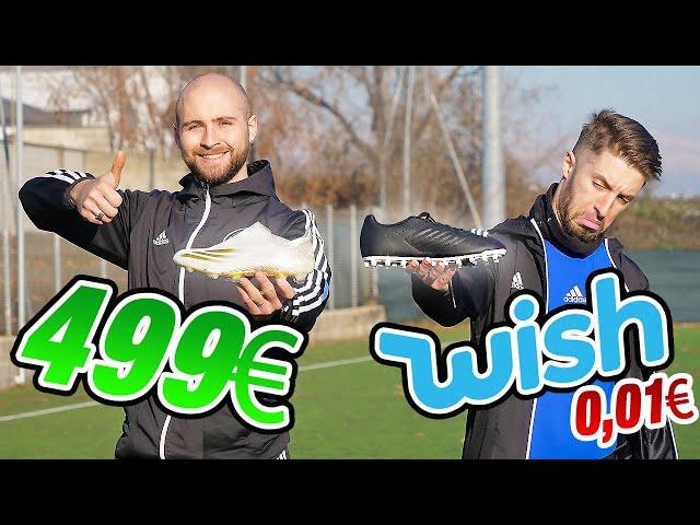 €499 ADIDAS Boot VS €0,01 WISH Boot - Le WISH meglio delle ADIDAS?
