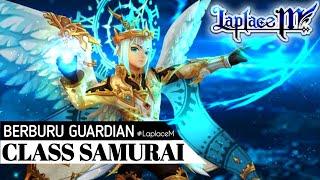 Laplace M - New Class Samurai! & Berburu Guardian Gold di Game Terkutuk (Tales of Wind)