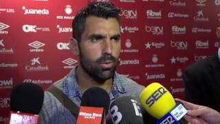 Juan E. Culio tras el Mallorca 2 - Zaragoza  2