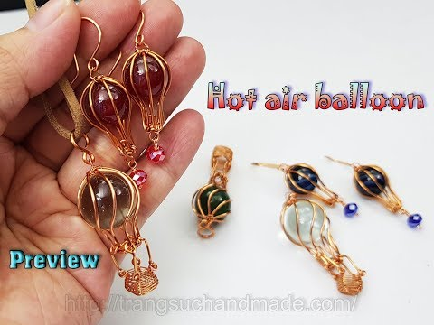 Preview Hot Air Balloon Jewelry Set