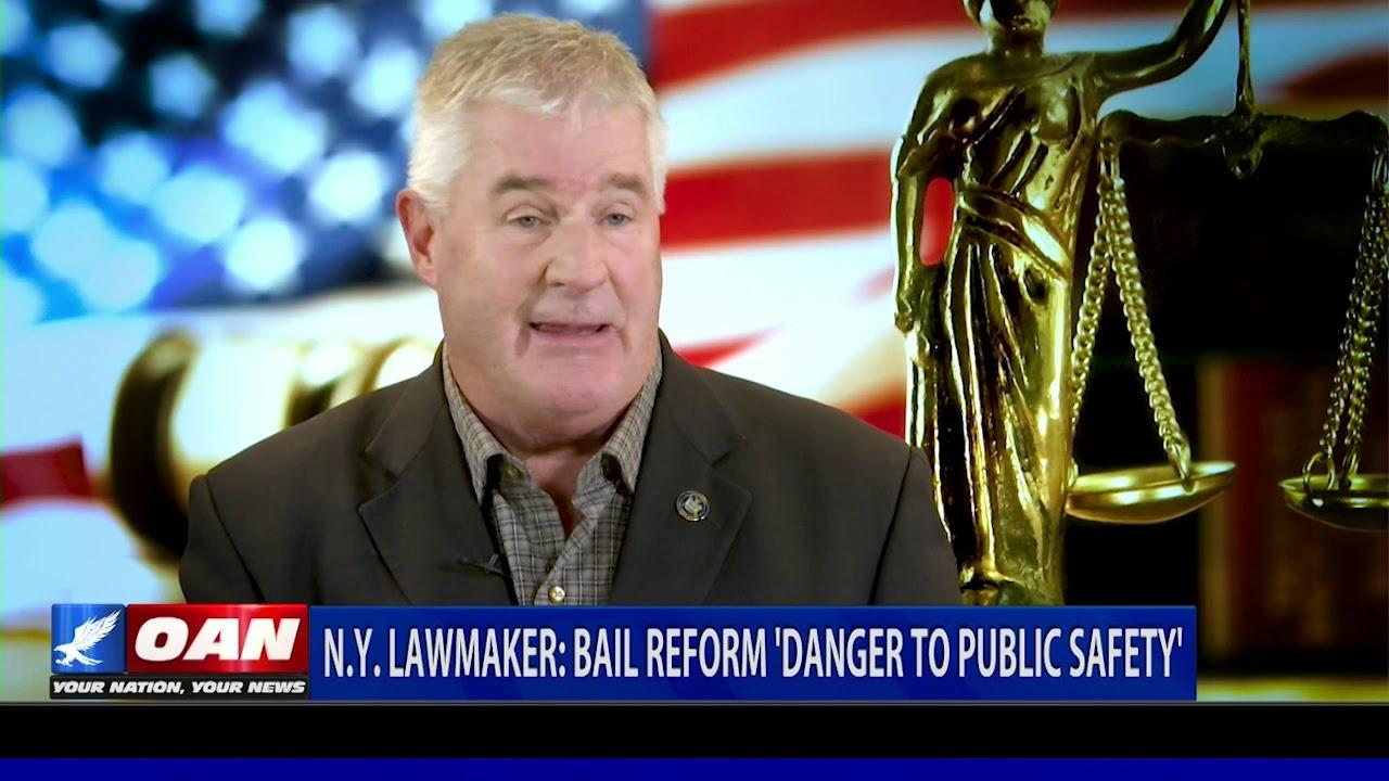 OAN N.Y. Lawmaker: Bail reform 'danger to public safety'