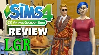 LGR - The Sims 4 Vintage Glamour Stuff Review