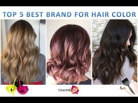 TOP 5 Best hair color brands