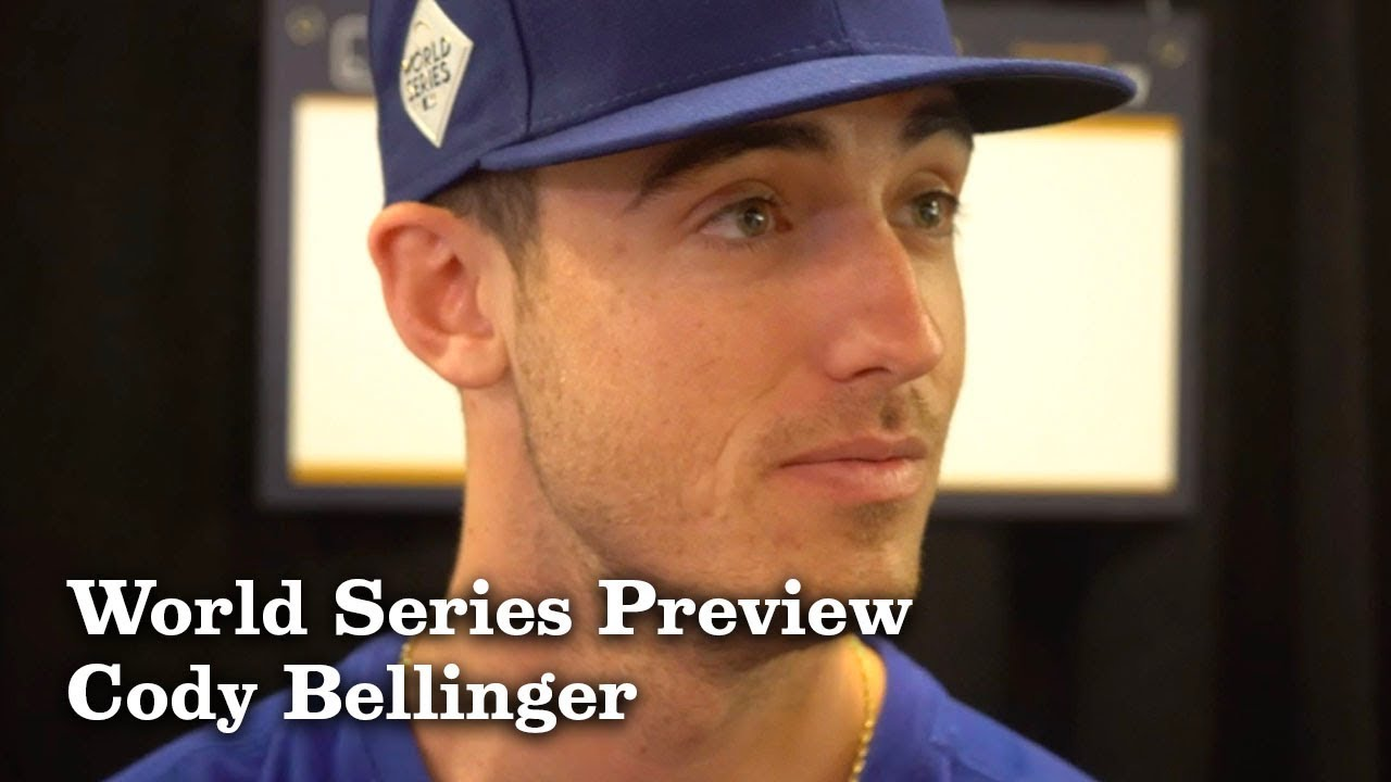 Cody Bellinger on Getting Advice from His Father | Los Angeles Times