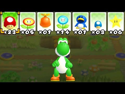 What happens when Yoshi uses Mario's Power-Ups?