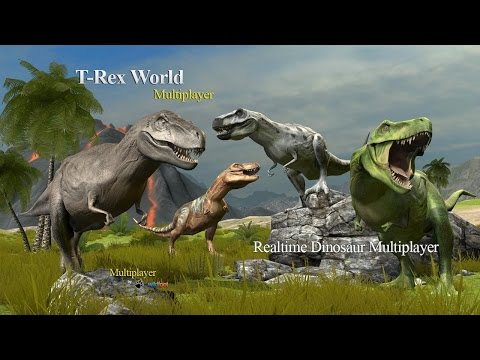 🐉🐲😜👍Tyrannosaurus Rex World Multiplayer - By Wild Foot Games - iTunes/Android