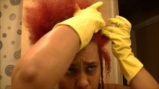 Changing My Red To Black (Natural Hair) Thumbnail