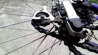 Скрежет при вращении колеса велосипеда