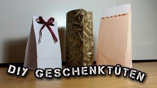 DIY Geschenktüten aus Tapete | Geschenkpapier