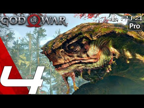 GOD OF WAR 4 - Gameplay Walkthrough Part 4 - Hunting Boar & Mysterious Witch (PS4 PRO)