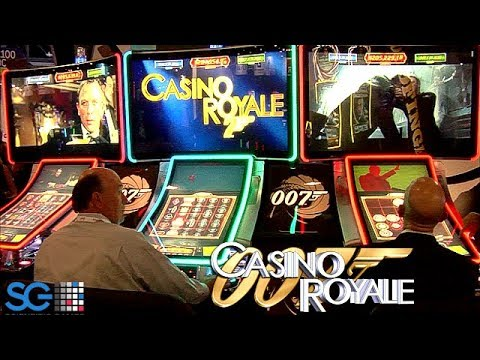 James Bond Casino Royale Slot Machine from Scientific Games
