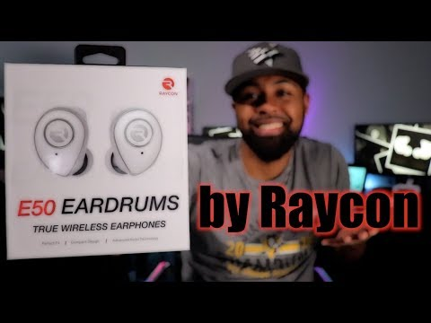 Raycon E50 Eardrums TW Review