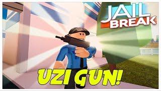 Roblox Jailbreak Update!  NEW GUN - UZI! *Coming soon*