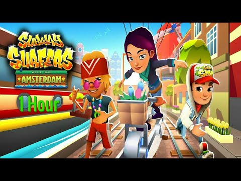 Subway Surfers - 1 Hour Surfing In Amsterdam