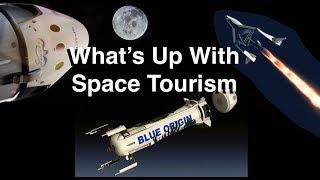 Space Tourism - Virgin Galactic vs Blue Origin (& SpaceX)