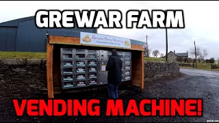 Grewar Farm Vending Machine Birkhill Scotland GoPro Hero 3