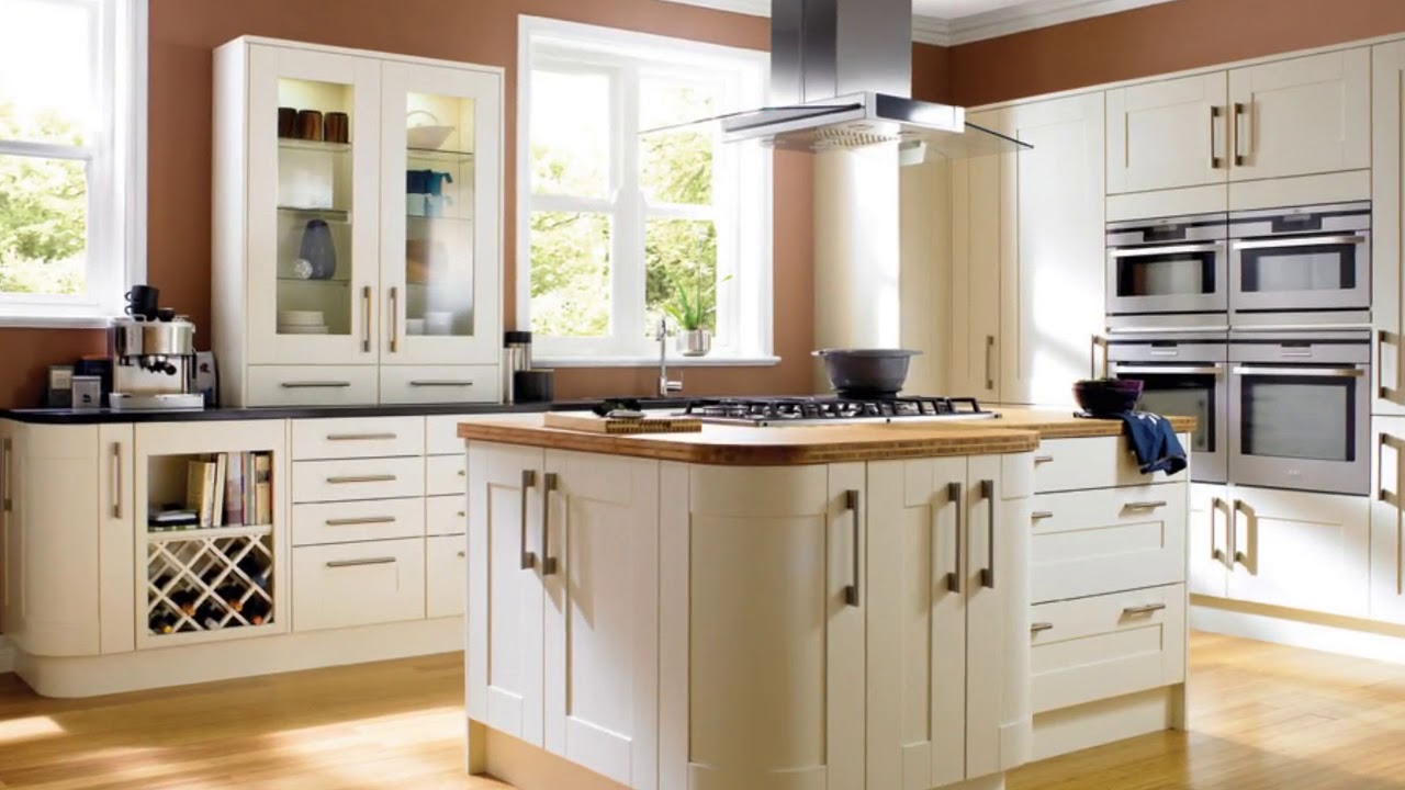Modern Small Fitted Kitchens Designs - YouTube