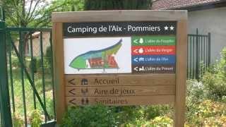 Camping de l'Aix** à Pommiers en Forez