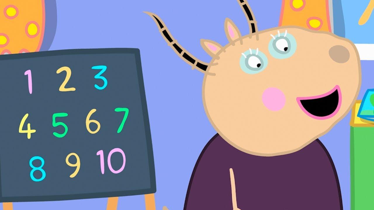Peppa Pig Italiano - I Numeri! - Collezione Italiano - Cartoni Animati