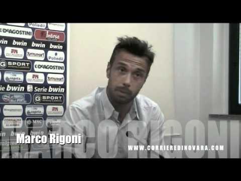 Novara Calcio: intervista a Rigoni