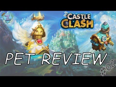 Castle Clash FR - Revue De Familier: Angi Mini