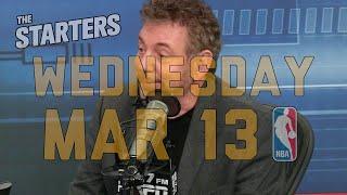 NBA Daily Show: Mar. 13 - The Starters thumbnail
