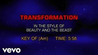 Ensemble - Beauty and the Beast - Transformation (Karaoke)