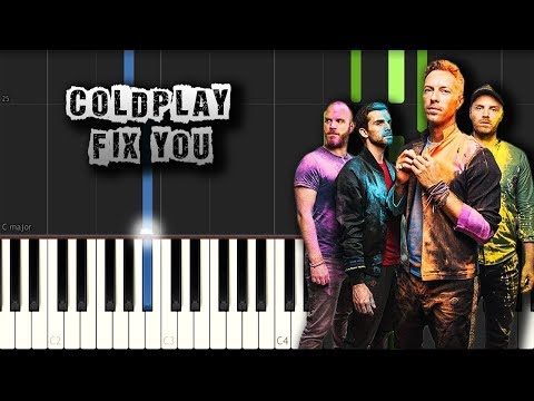 Coldplay  Fix You  Piano Tutorial Synthesia Download MIDI