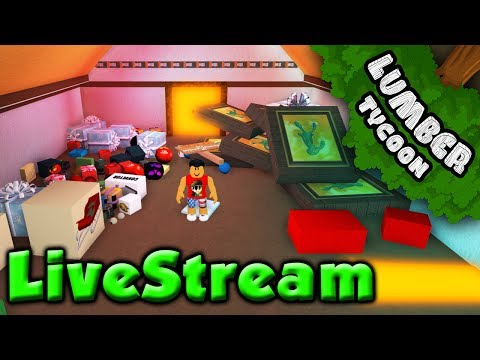 Lumber Tycoon LIVE: GIVING AWAY SOME RARE ITEMS!! | Roblox
