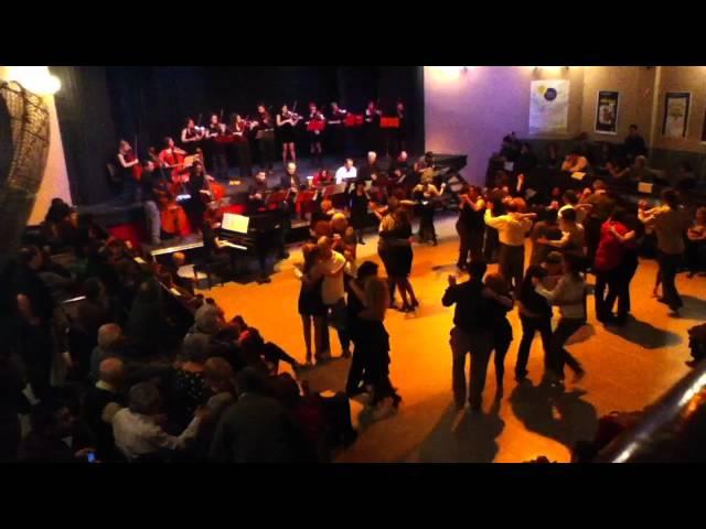 El conventillo. Orquesta escuela de Tango de Barcelona + Orquesta de Tango de París
