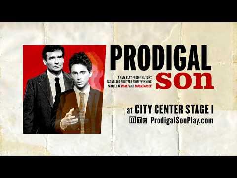 Robert Sean Leonard & Timothée Chalamet  in MTC's PRODIGAL SON