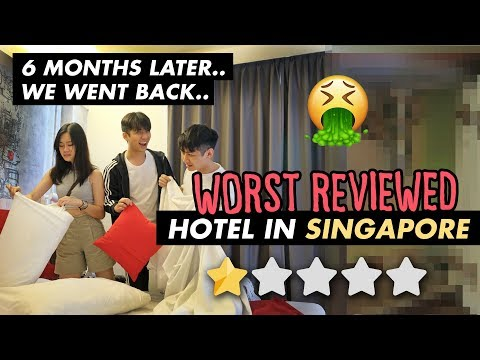 Going back to the WORST reviewed hotel in Singapore (1 STAR) *6 Months Later*