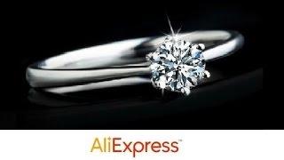 Видео-обзор с Aliexpress - Кольцо из стерлингового серебра 925 пробы и циркона