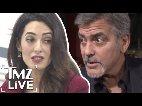 George & Amal Clooney Outraged Over Illegal Photo Of Twins | TMZ Live