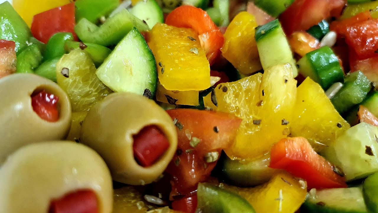 Easy Salad Recipe|Healthy Salad Recipe For Weight Loss ...