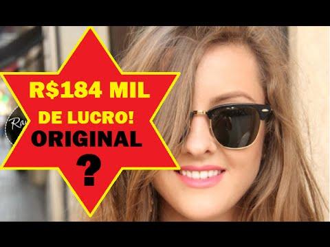 Fornecedores de óculos Ray ban - 184 mil de lucro! - YouTube 5f9ff0c0de