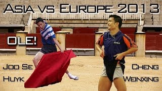 Repeat youtube video Asia vs. Europe: Joo Se Huyk vs. Cheng Weixing